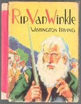Rip Van Winkle Washington Irving 1941 McLoughlin Bros Little Color Class... - $9.99