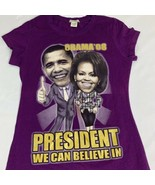 2008 Obama T Shirt Change Michelle Barrack President Tee Women's Size XL - $17.00