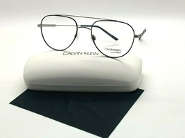 Calvin Klein W/ FLEXON CK 19145F 410 BLUE/GUNMETAL Eyeglasses Frames 53-... - $41.68