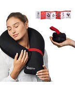 CANDY CANE Travel Pillow – Ultra Compact, Inflatable Travel Pillow for A... - $20.53