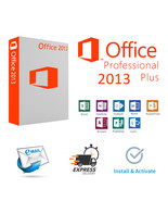 Microsoft Office 2013 Professional Plus - product/License Key and download  - $10.99+