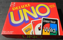 Deluxe Uno  Game 1993 -Complete - $10.00