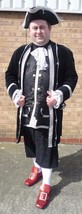 Regency Prince / Pirate / Footman  - Black / Silver    XL  - $98.51