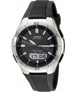 Casio Mens Solar Powered Atomic Wave Ceptor TOUGH SOLAR Watch W/Black Re... - $135.80