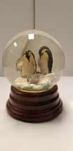 Penguin Globe San Francisco music box company used - $38.48