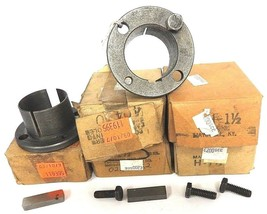 LOT OF 6 NEW BROWNING H-1-1/2 SPLIT TAPER BUSHINGS 1-1/2IN ID 2-1/2IN OD image 2
