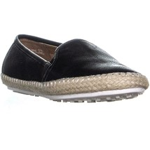 Aerosoles Lets Drive Loafers, Black Leather, 6 US - $37.43