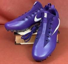 Nike Men's Vapor Untouchable Pro Football Cleats Purple Size 14.5 M New No Box - $49.90