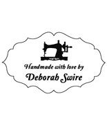 custom name sewing machine handmade by personalized pre ink self inking ... - $7.91