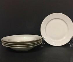 Rosenthal F Germany Set of 4 Soup Bowls 1 Salad Plates Gold Trim PD19 - $24.99