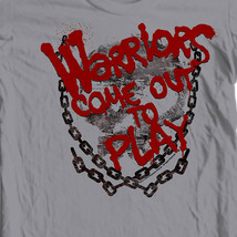 The Warriors Come out and play T-shirt 70's retro style 100% cotton tee  PAR43 image 1