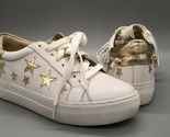 J/Slides NYC Alabama Gold Star Sneakers Size 6.5