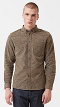 Levis MC Made & Crafted Standard Shirt in Brown Donegal SIZE 4 $298.00 M... - $99.95