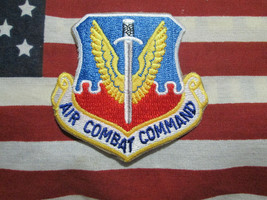 Usaf Us Air Force Air Combat Command Color Patch - $7.00