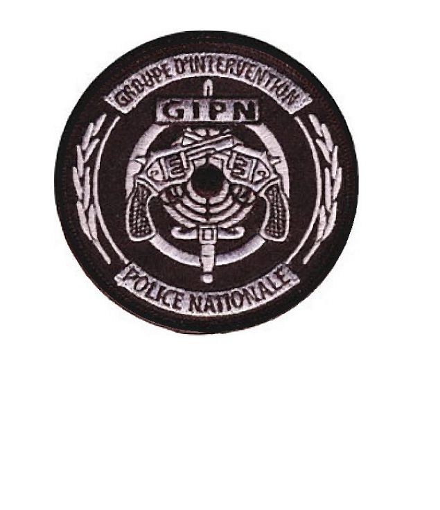 Olice nationale gipn droupe d intervention french national police swat velcro3.5 x 3.5 in  10.99