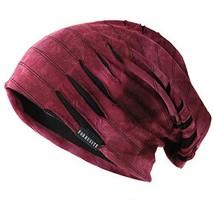 Ruphedy Mens Slouchy Oversized Beanie Skull Cap Summer Thin Knit Hat B30... - $18.18