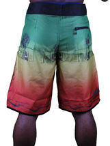 T.I.T.S. Two In The Shirt Hot Girl Beach Jamaica Swim Surf Board Shorts Size: 28 image 6