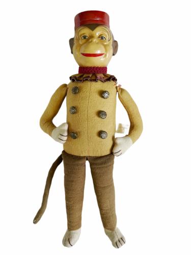 "Vintage Katherine's Collection Wayne Kleski 15"" Tall Monkey Bellhop Doll Retired"