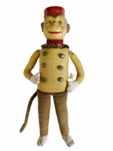 "Vintage Katherine's Collection Wayne Kleski 15"" Tall Monkey Bellhop Doll Retired image 1"