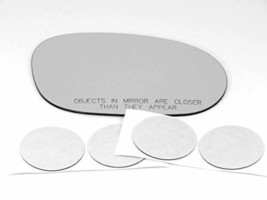 VAM Fits 08-20 Challenger Right Passenger Convex Mirror Glass Lens W/Sil... - $20.74