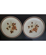 """2 x The Woodhaven Collection - Pleasant Grove Side/ Dessert Plates - 6.25"""" - $12.99"""