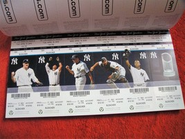 MLB 2010 NY Yankees Full Unused Collectible/Souvenir Ticket Stubs $3.99 ... - $3.95