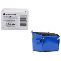 Refuse Trash Bin Blue 1/34 Diecast Model by First Gear 90-0534 - $18.39