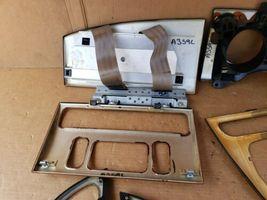 00-03 Jaguar XK8 XKR 8pc Wood Grain Dash Console Switch Trim Set image 10