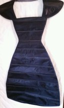 Black Dress Jewelry Organizer Double Sided and ... - $9.89