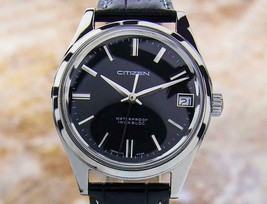 Citizen Made In Japan Manual Authentic Vintage Rare Mens Watch c1960s Nr44 - $587.02