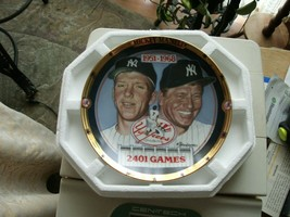 17#9 The Hamilton Collection 2401 Games Mickey Mantle Collectors Plate - $13.85