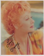 Lucille Ball (d. 1989) Signed Autographed Glossy 8x10 Photo - COA Matching Holos - $149.99