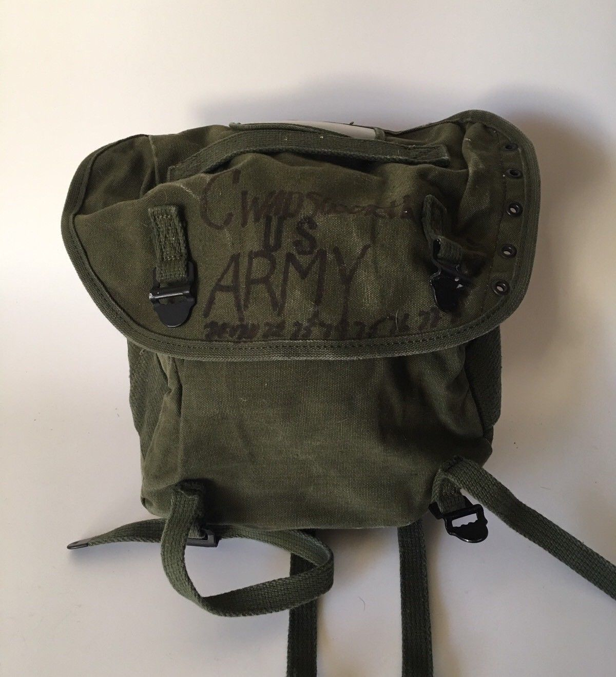 e788aefe2b Vintage Field Pack Canvas Bag US Army and 50 similar items