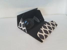 Vera Bradley Foldable Sunglass Case  Ikat Spots Black. NWT - $20.46