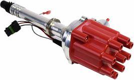 Pro Billet Series R2R Distributor GMC Chevy SBC BBC V8 327 350 396 454 Red image 3