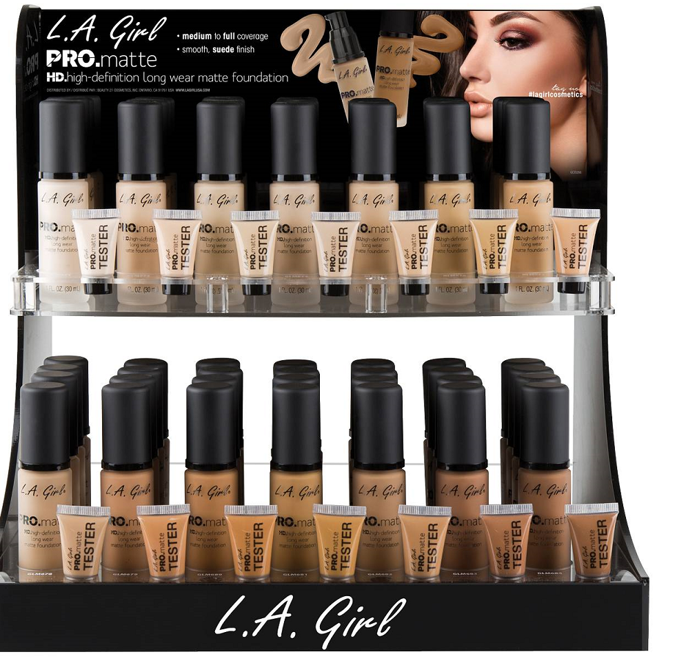 "Primary image for L.A. Girl Pro Matte HD Long Wear Matte Foundation GLM ""Pick 1 Color"""