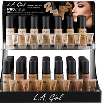 "L.A. Girl Pro Matte HD Long Wear Matte Foundation GLM ""Pick 1 Color"" - $8.97"