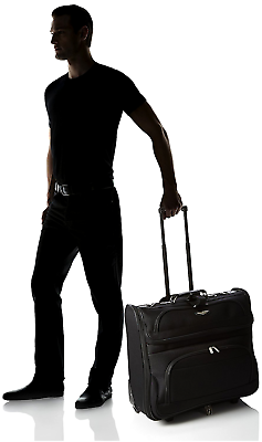 BUSINESS BAG LUGGAGE ROLLING GARMENT TRAVEL AMSTERDAM CLOTHES KEEP SUIT SUITCASE