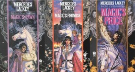 Mercedes Lackey LAST HERALD MAGE TRILOGY Fantasy Collection Set Paperbac... - $20.99