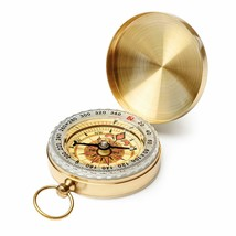 Pocket Compass for Hiking Camping Navigation Boating  - $19.00