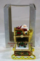 Mr Christmas 2006 Animated Santa Music Box We Wish You A Merry Christmas - $20.78