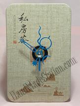 Music Box Movement I write the song Chinese Tea box Tin 2015 Desk Quartz Clock image 6