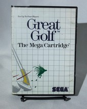Great Golf The Mega Cartridge Sega Master System  - $9.74