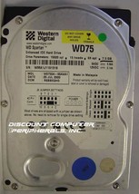 WD75DA Western Digital 7.5GB IDE 3.5 Drive Tested Good Free USA Ship