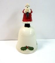 Vintage 1983 Old Santa Dinner Bell by Otagiri MOOC - Japan - $8.99