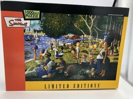 The Simpsons Limited Editions Sunday Afternoon On The River Puzzle 1000 Pc - $49.00