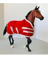 Breyer #1270 Afleet Alex Champion Racer Model Horse Light Bay with Blank... - $38.69