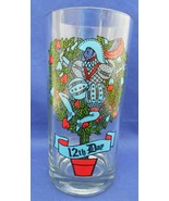 Twelve Days Of Christmas 12th Day Indiana 2350 Drinking Glass Tumbler 12... - $2.50