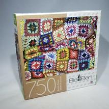 Big Ben Granny Squares Crochet Jigsaw Puzzle 750 Pieces 6046597 Factory ... - $14.95