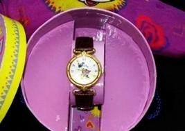 Minnie Mouse Watch Prism Glass Disney Ladies Women's with Minnie Scarf NIB - $112.81